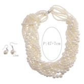 Plain Earrings European Gift Jewelry Sets