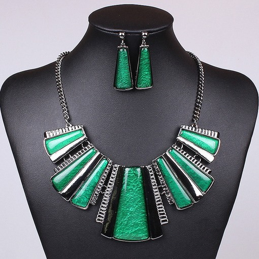 Earrings Vintage E-Plating Prom Jewelry Sets