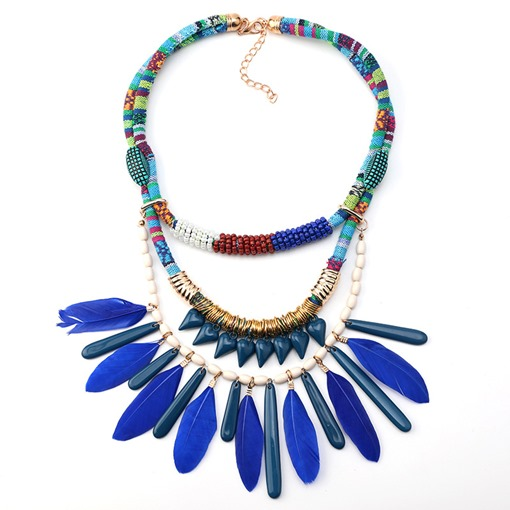 E-Plating Ethnic Pendant Necklace Female Necklaces