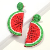 Color Block Sweet Party Earrings