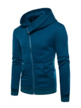 Cardigan Zipper Thin Plain Spring Men's Hoodies