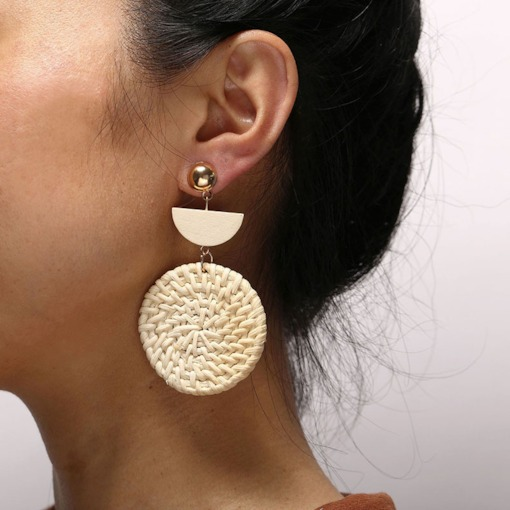 Alloy Vintage Plain Holiday Earrings