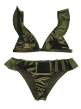 Sexy Tankini Set Patchwork Plain Women's Swimwear