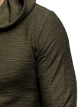 Plain Pullover Casual Men's Hoodies