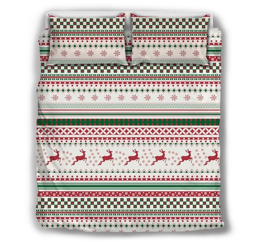 Cotton Christmas Comforter Set Hand Wash Three-Piece Set