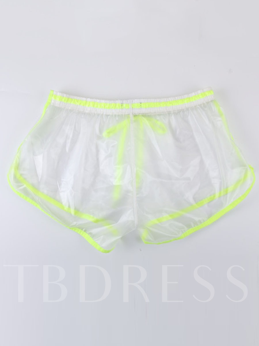Men's PVC Transparent Sexy Shorts