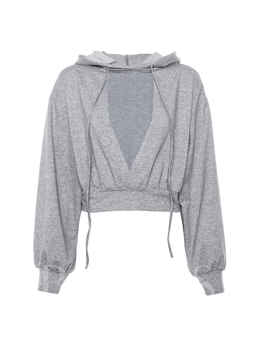 Long Sleeves with Hood Women's Casual Sweater