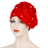 Cotton Bead Ethnic Fall Hats