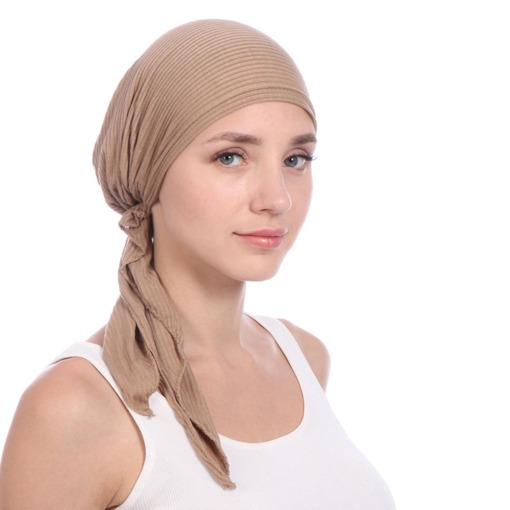 Ethnic Solid Color Cotton Skullies & Beanies