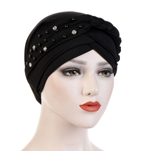Skullies & Beanies Ethnic Diamond Plain Hats