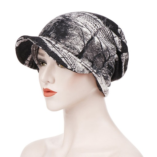 Print Casual Cotton Winter Hats