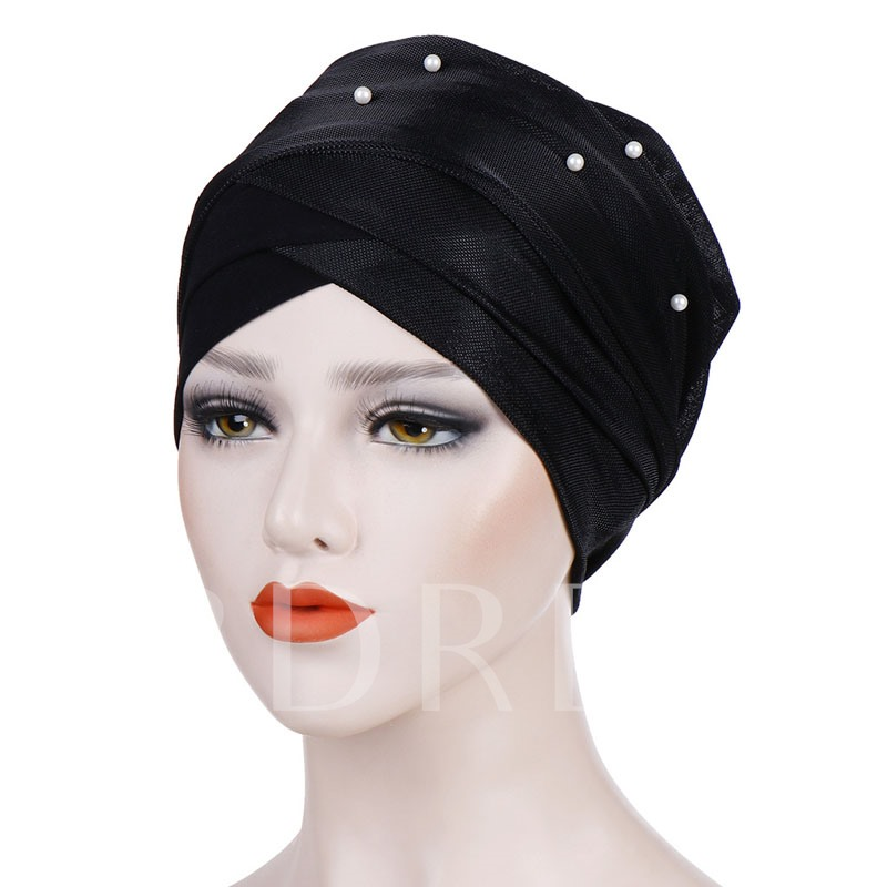 Polyester Skullies & Beanies Ethnic Summer Hats