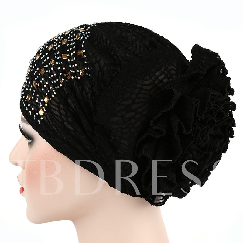 Ethnic Cotton Diamond Summer Hats