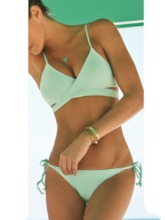 Tankini Set Plain Sexy Hollow Women's Swimwear