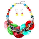 E-Plating European Necklace Gift Jewelry Sets