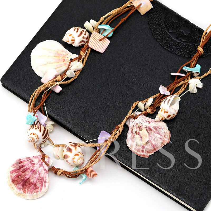 Sweet Pendant Necklace Handmade Female Necklaces