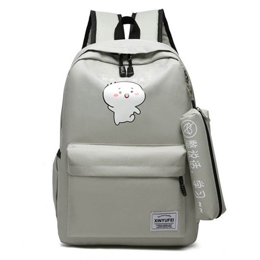 Cartoon Print Canvas Backpacks