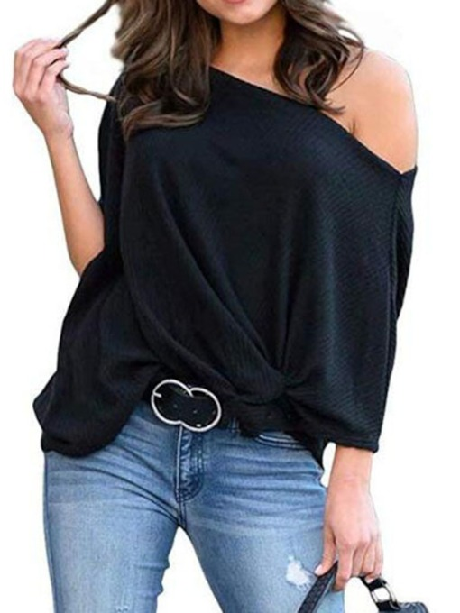 Thin Three-Quarter Sleeve Women's Sweater