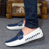 Low-Cut Upper Soft Leather Flat Men's Loafers