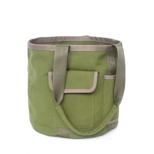 Garden Tool Bag Multifunctional Handbag Gardening Tool Bucket Waterproof Canvas