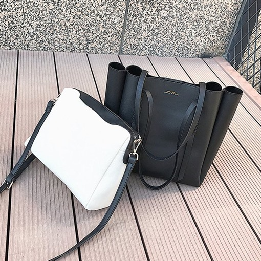 PU Thread Shoulder Bags