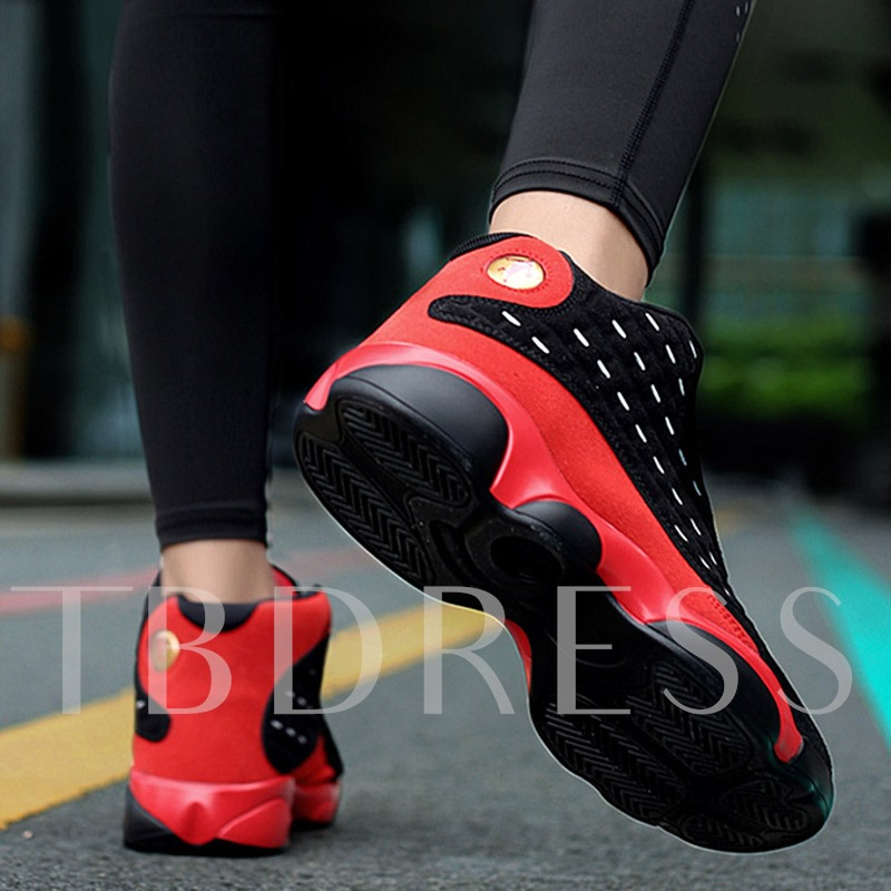 High Top Round Toe Lace-Up Women's Sneaker Plus Size
