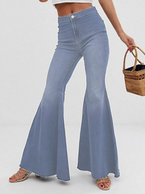 schlanke damenjeans von bellbottoms