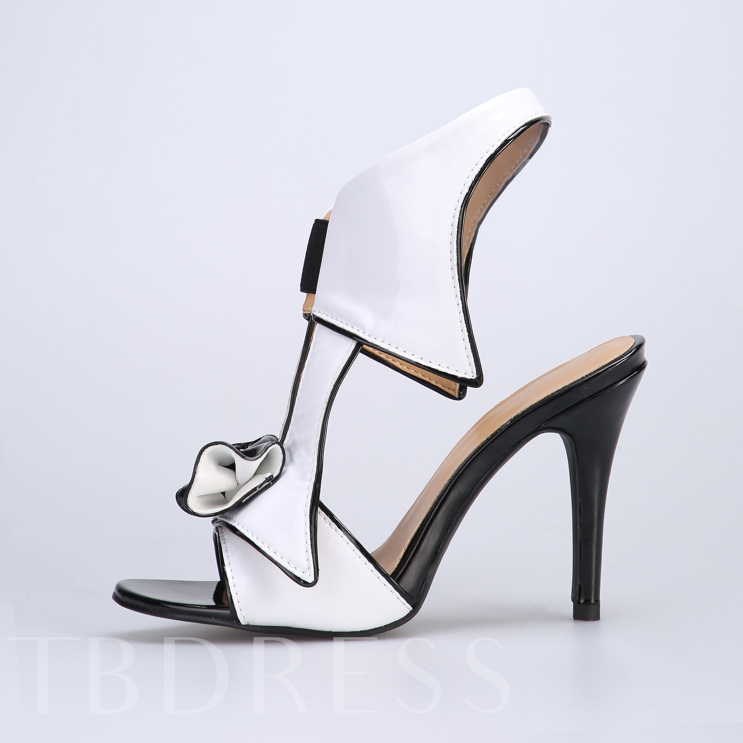 Open Toe Slip-On Stiletto Heel Women's Sandals