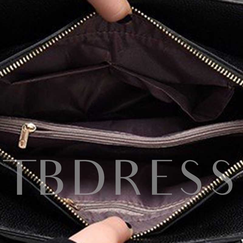 Embossing PU Serpentine Rectangle Women's Tote Bags