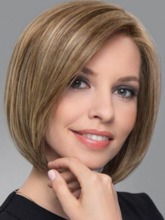 Short Bob Hairstyles Women's Blonde Straight 100% Human Hair Wigs Lace Front Wigs 12Inch