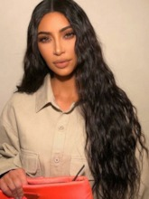 Natural Looking 100% Human Hair Wigs Women's Curly Long Length Lace Front Wigs 26inch