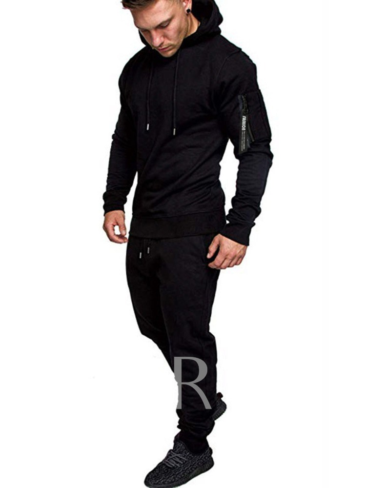Hoodie Camouflage Casual Print Spring Men's Outfit