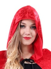 Plain Long Cape Cloak Women's Costume