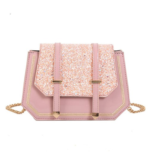 Sequins Belt-Decorated Women's Cross Body Bags