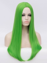 Halloween Cosplay Straight Synthetic Hair Wigs Costume Party Capless Wigs 26Inches