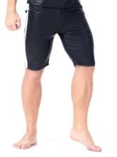 Men's Sexy Patent Leather Shorts
