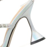 Buckle Open Toe Stiletto Heel PromSandals