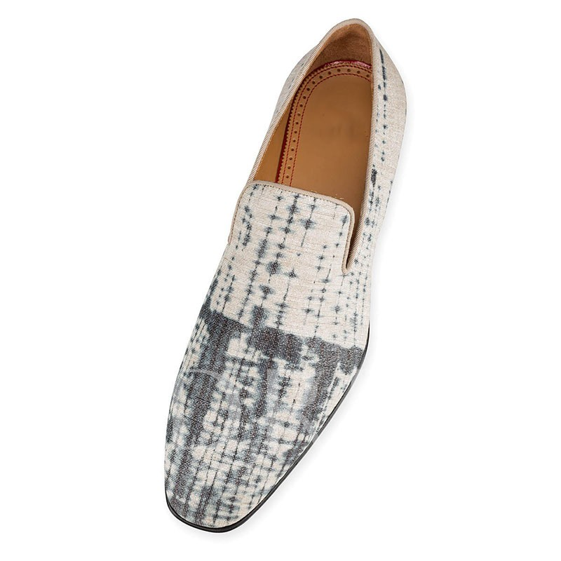 Color Block Simple Slip-On Men's Dress Shoes