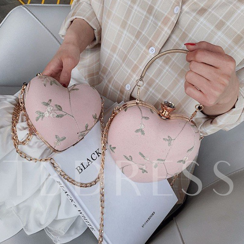 Floral Print Chain Vintage Cross Body Bags