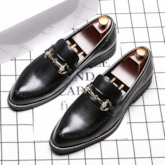 Low-Cut Upper PU Men's Business Shoes