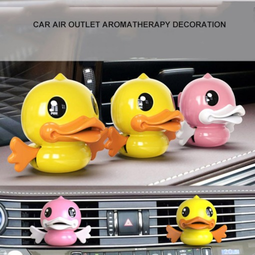 Couple Duck Multifunction Car Solid Aromatherapy