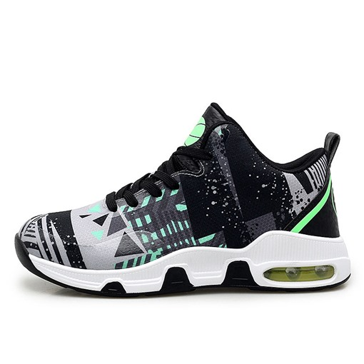 High Top Sports Lace-Up Round Toe Men's Sneakers