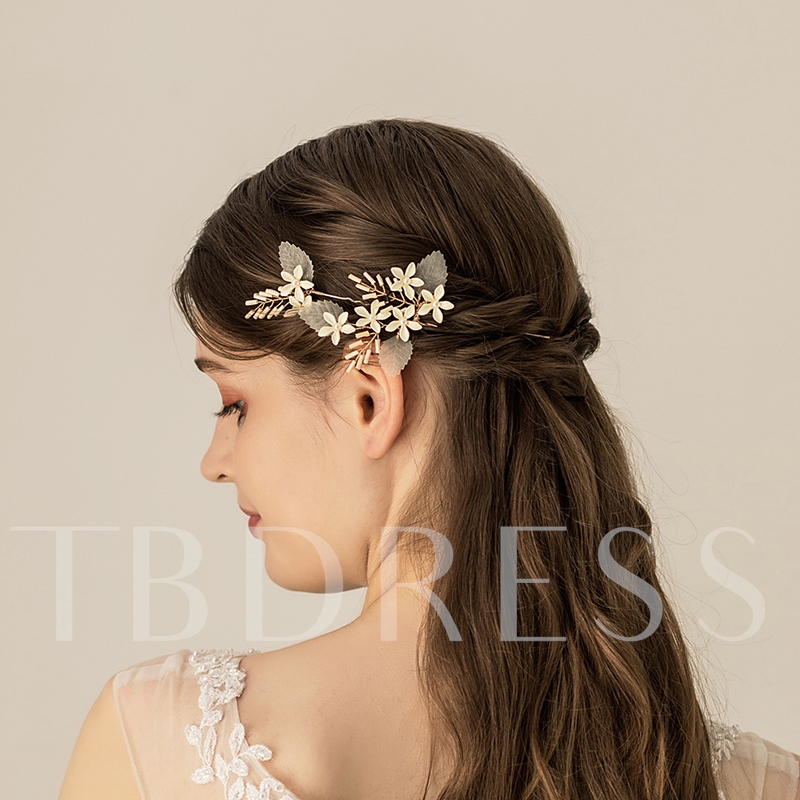 Hair Stick Floral European Hair Accessories (Wedding)