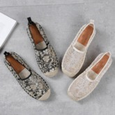 Round Toe Casual Slip-On Women's Flats