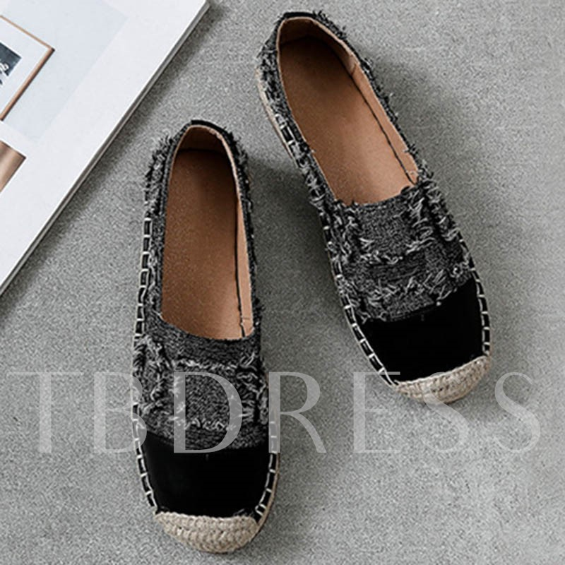 Round Toe Slip-On Casual Women's Flats