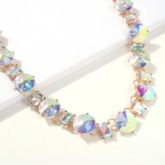 Diamante European Rhinestones Choker Necklace