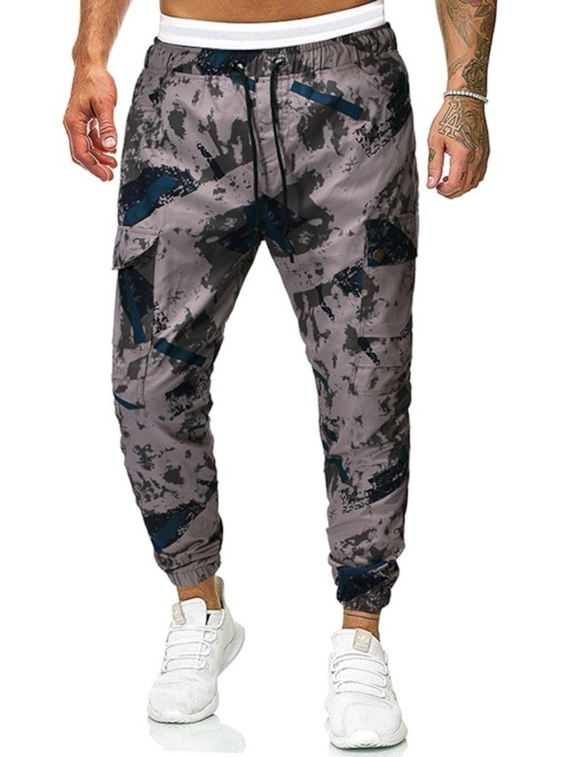 Overall Pocket Camouflage Casual Men's Casual Pants