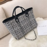 Knitted Rectangle Knitted Women's Shoulder Bags