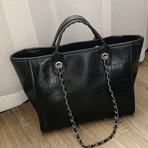 Alligator Rectangle Shoulder Bags