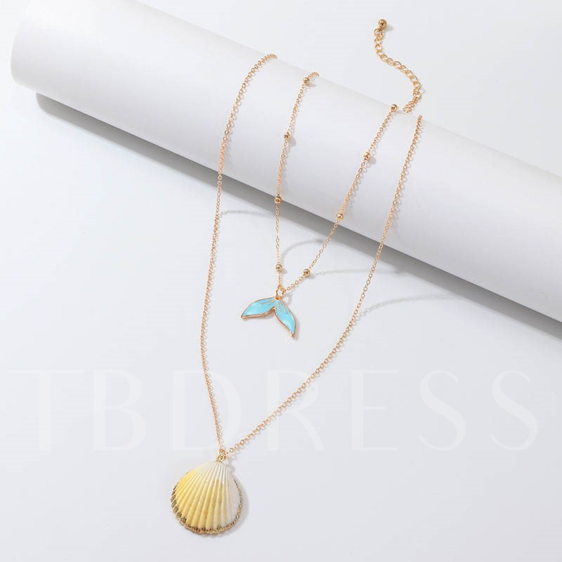 European Pendant Necklace Female Necklaces